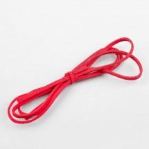Шнурок замшевый для творчества, длина: 1 метр, цвет красный