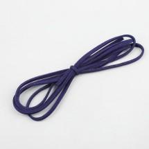 Шнурок замшевый для творчества, длина: 1 метр, цвет фиолетовый