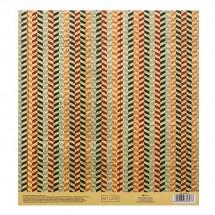 Бумага для скрапбукинга с клеевым слоем «Peace», 20 × 21,5 см, 250 г/м