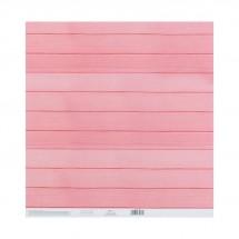 Бумага для скрапбукинга с клеевым слоем «Розовые мечты», 30,5 × 32 см, 250 г/м