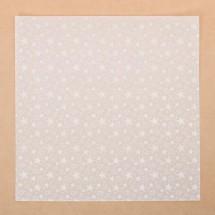 Калька декоративная «Звезды» , 30.5 х 30.5 см. Цена 1 листа