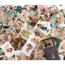 """Карточки для творчества """"Ангелы на земле"""", 50 шт."""