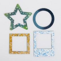 Набор декоративных рамочек «Со вкусом новогодних конфет», 12 × 15 см