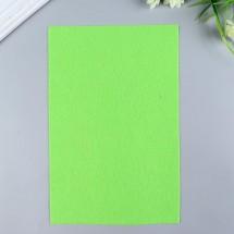 """Фетр мягкий """"Soft"""" 1мм, 21*29,7 см. Цвет салатовый. FLT-S1-674 (1 лист)"""