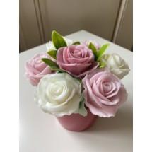 """Подарочный набор """"Мыльный букет 7 роз"""" - Ручная работа. Делается под заказ. Цветовая гамма согласовывается."""