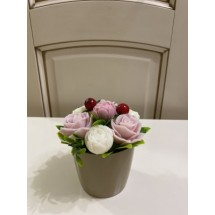"""Подарочный набор """"Мыльный букет Розы"""" - Ручная работа. Делается под заказ. Цветовая гамма согласовывается."""