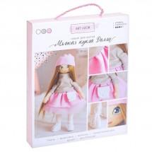 Интерьерная кукла «Долли», набор для шитья, 18 × 22.5 × 3 см