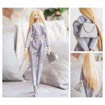 Мягкая кукла «Никки», набор для шитья 22,4 × 5,2 × 15,6 см