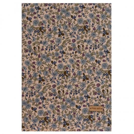 Ткань на клеевой основе «Цветочная поляна», 21 х 30 см. Цена за 3 шт.