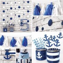 Набор для декора праздника «Морской бриз», 15 х 20,5 х 3,5 см