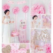 Набор для декора свадьбы «Наш день», 21 х 29,7 см