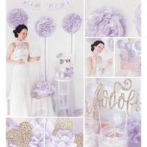 Набор для декора свадьбы «Наша свадьба», 21 х 29,7 см