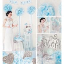 Набор для декора свадьбы «Чудесный день», 21 х 29,7 см