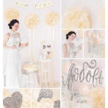Набор для декора свадьбы «Наш праздник», 21 х 29,7 см