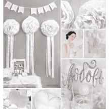 Набор для декора свадьбы «Я тебя люблю!», 21 х 29,7 см