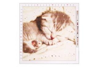Канва для вышивания с рисунком «Котёнок» 41 х 41 см