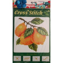 """Набор для вышивания крестиком """"Груша"""", 13 х 20 см."""
