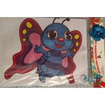 """Набор для вышивания крестиком """"Бабочка"""", 17 х 21 см."""