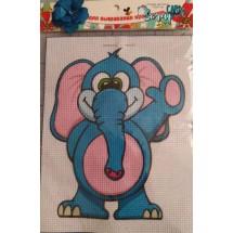 """Набор для вышивания крестиком """"Слон"""", 17 х 21 см."""
