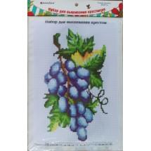 """Набор для вышивания крестиком """"Гроздь винограда"""", 20 х 28 см."""