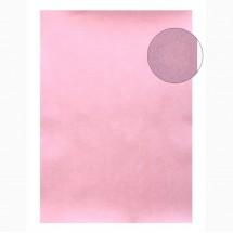 "Бумага для творчества фактурная ""Нити розовые"" формат А4, цена за 1 лист"