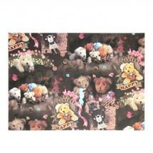 """Бумага для творчества """"Счастливые мишки"""" А4, плотность 55 гр, цена за 1 лист"""