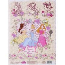 """Декупажная карта """"Чудеса там, где в них верят"""": Принцессы, 21 х 29,7 см. Цена за 1 шт."""