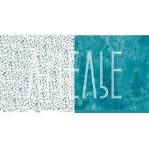 Двухсторонняя бумага Коллекция FreeДА «Из неба в море»  ARTFRC10
