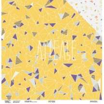 Двухсторонняя бумага Коллекция GEOметрия «Треугольный мир» ARTGEO05