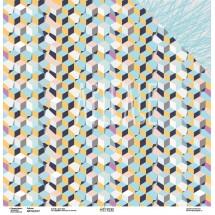 Двухсторонняя бумага Коллекция GEOметрия «Кубизм» ARTGEO01